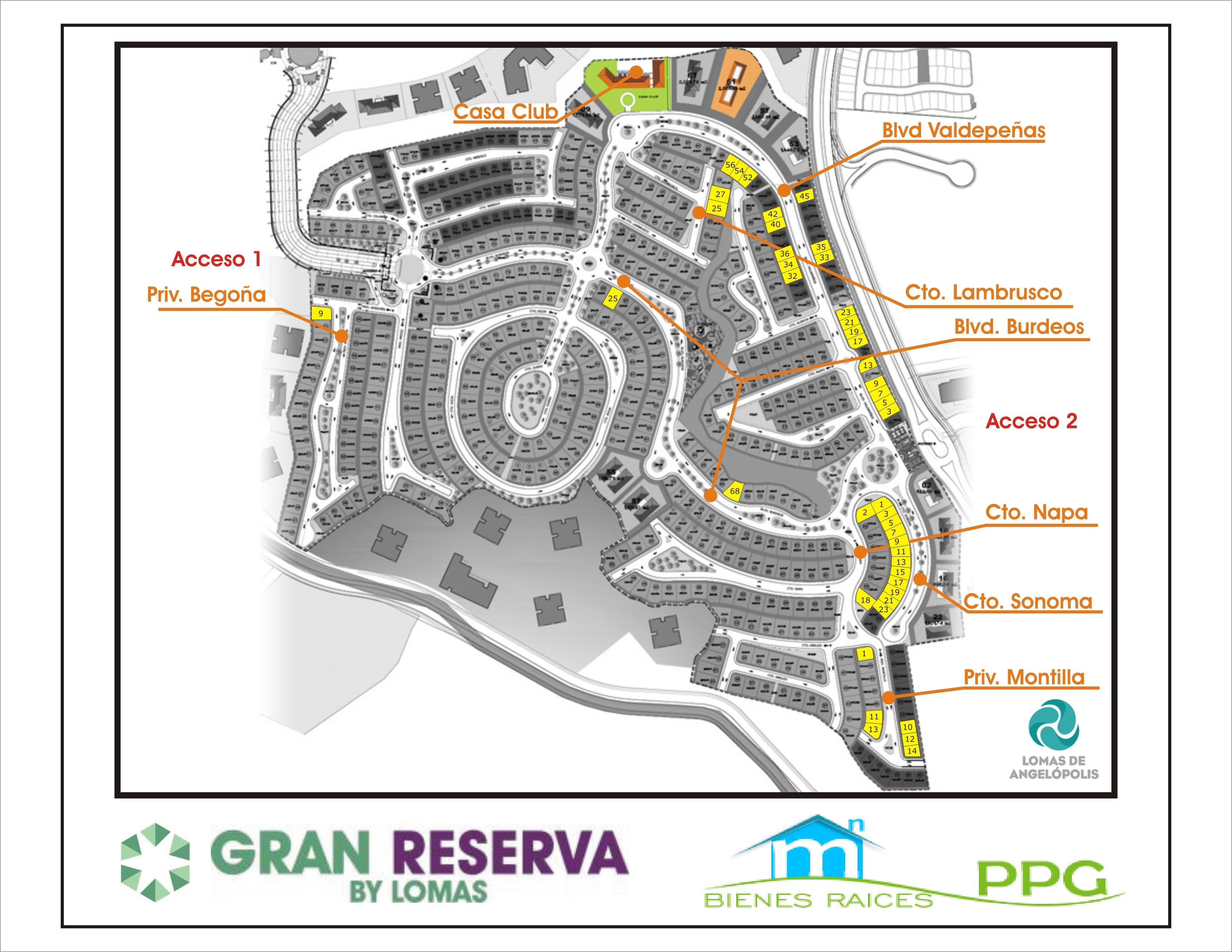 Preventa gran reserva boulevard valdepe as lomas de - Plano de valdepenas ...